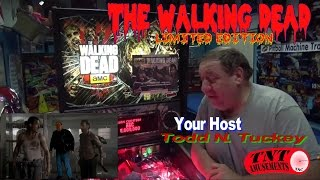#870 Stern WALKING DEAD Limited Edition Pinball Machine-One of 600 made! TNT Amusements