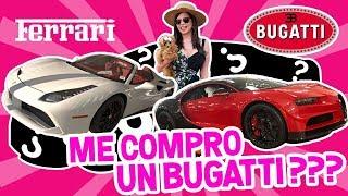 BUGATTI , FERRARI Ó LAMBORGHINI QUÉ SUPER CARRO ME COMPRO ? | EL MUNDO DE CAMILA