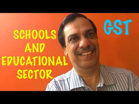 GST applicability for Schools and Educational Sector | Learning GST | CA Arun Ahuja