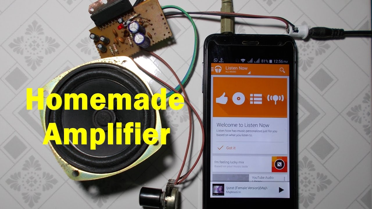 Homemade Amplifier For Smartphone And Computer | simple life hacks | 2017