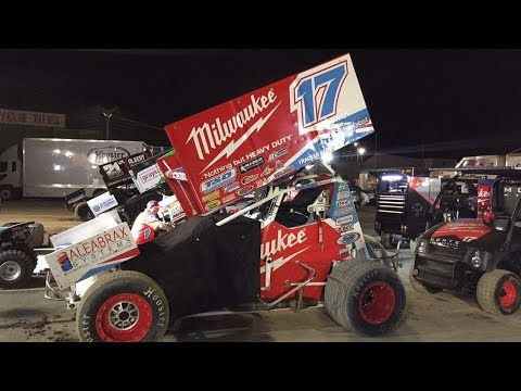 World Series Sprintcars- Track Packing 2/2/18 Gulf Western & Independant Oils Raceway