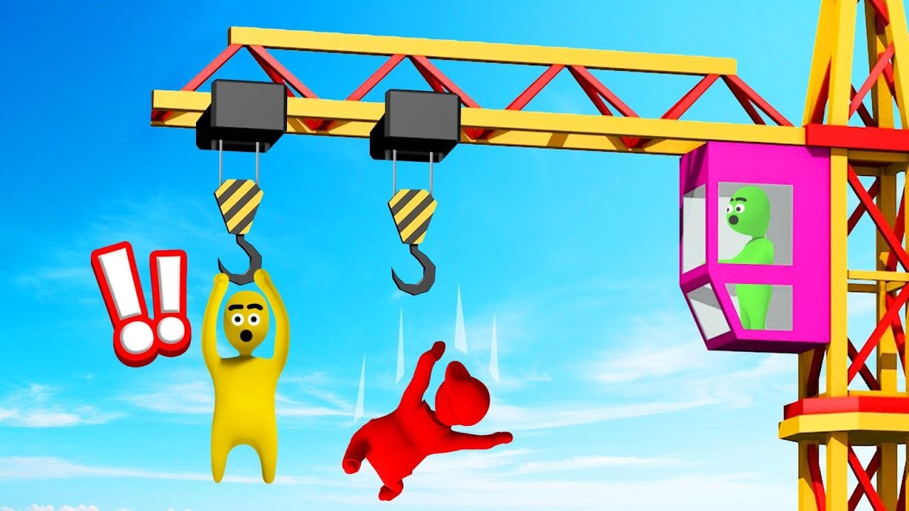 HOLD ON The LONGEST To WIN! (Gang Beasts)