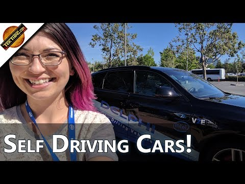 Experiencing Self Driving Autonomous Cars with Intel! - TekThing Short