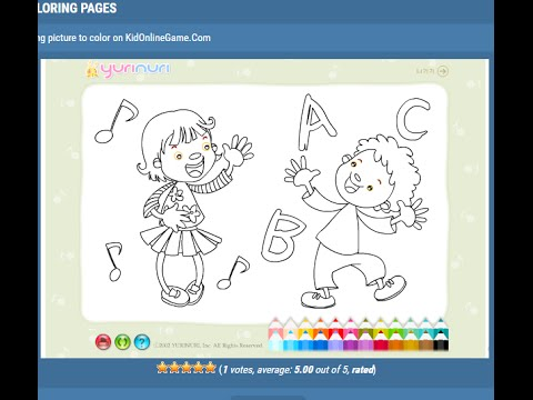 Colouring Pages Of Abc : Abc coloring pages for kids abc coloring pages youtube