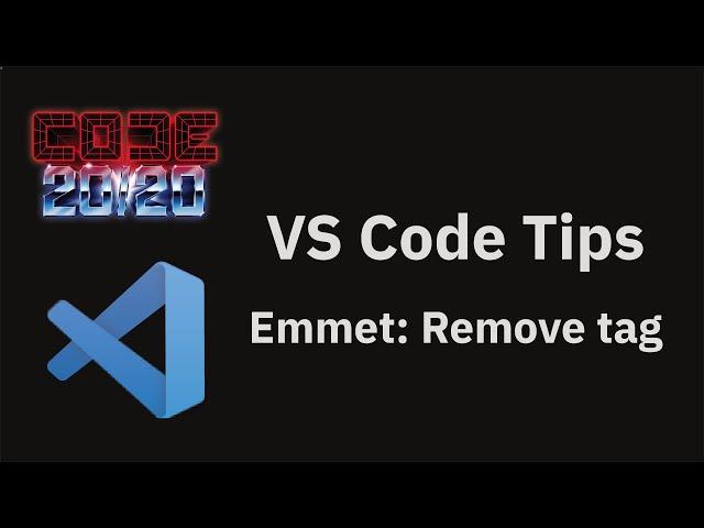 Emmet: Remove tag