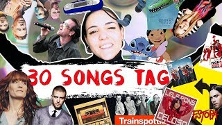 30 SONGS TAG 2018 | Andrea Compton