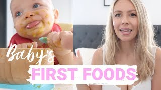 Gambar cover STARTING SOLIDS (Baby's first foods) | Krissy Ropiha