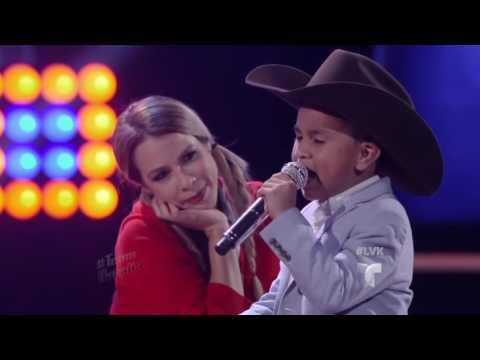 Jossue canta 'La Mejor de Todas' de Banda El Recodo  | La Voz Kids 2016