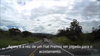 Motorista Irresponsável Arriscando a Vida de Inocentes na BR-267