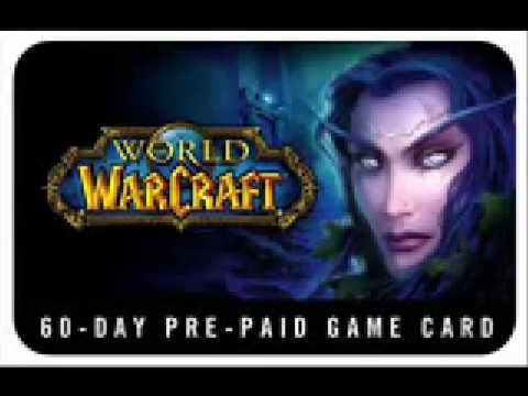 WoW Gamecard Generator (Updated! March 09, still working)