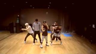 Big Bang - Monster- mirrored Dance Practice
