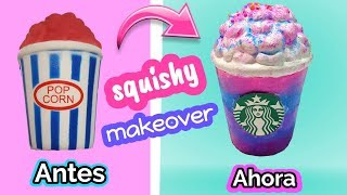 Squishy makeovers repara tus squishies viejos