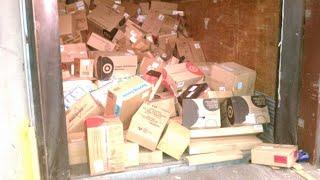 Backroom at Target