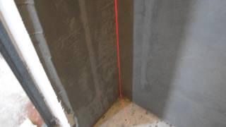 Использование лазерного нивелира для проверки углов