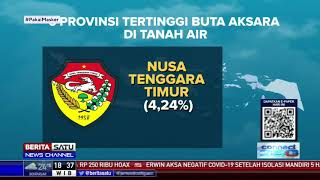 Kemdikbud: Angka Buta Aksara Nasional  1,78%, Papua Masih 21,9%