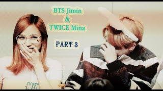 BTS Jimin x TWICE Mina (JiMina) All Moments PART 3 [BangTwice]