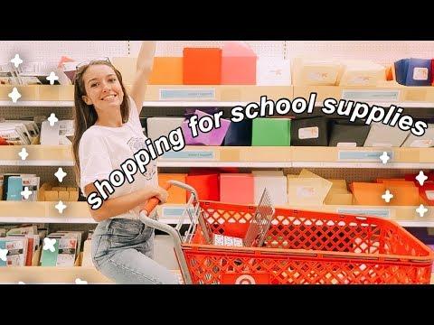SCHOOL SUPPLIES SHOPPING 2019 // Haul + Vlog