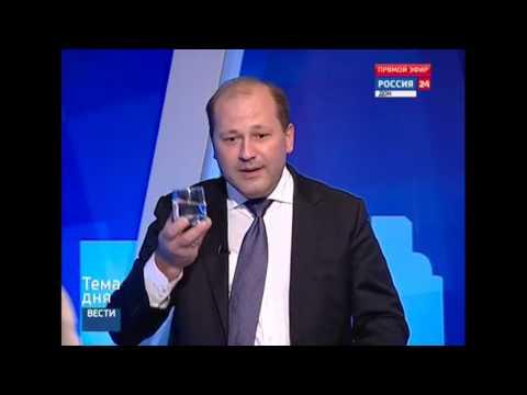 Директор «Водоканала» выпил сырую ростовскую воду
