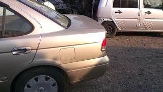 Видео-тест автомобиля Nissan Sunny (бежевый металлик, Qg15de, 2003г., FB15-811976)