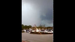 Tornado in Jacksonville florida duval