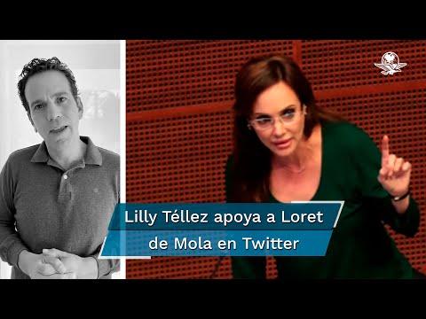 """Así empezó Venezuela"", dice Lilly Téllez sobre petición de cárcel a Loret de Mola"