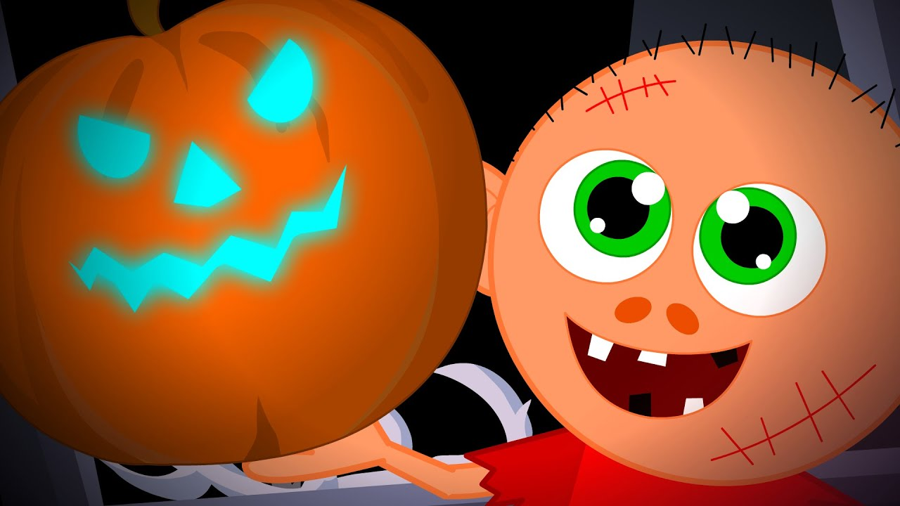 theres a scary pumpkin scary song kids halloween nursery rhymes videos for children youtube - Halloween Youtube Kids
