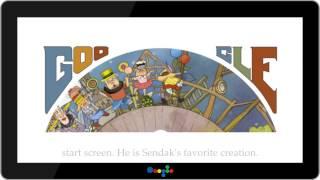 Maurice Sendak Google Doodle (HD)