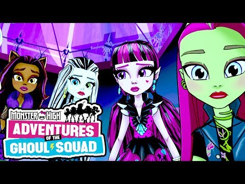 The Ghoul Squad is Famous! | Adventures of the Ghoul Squad | Monster High