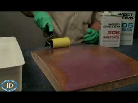 West System Epoxy Barrier Coating