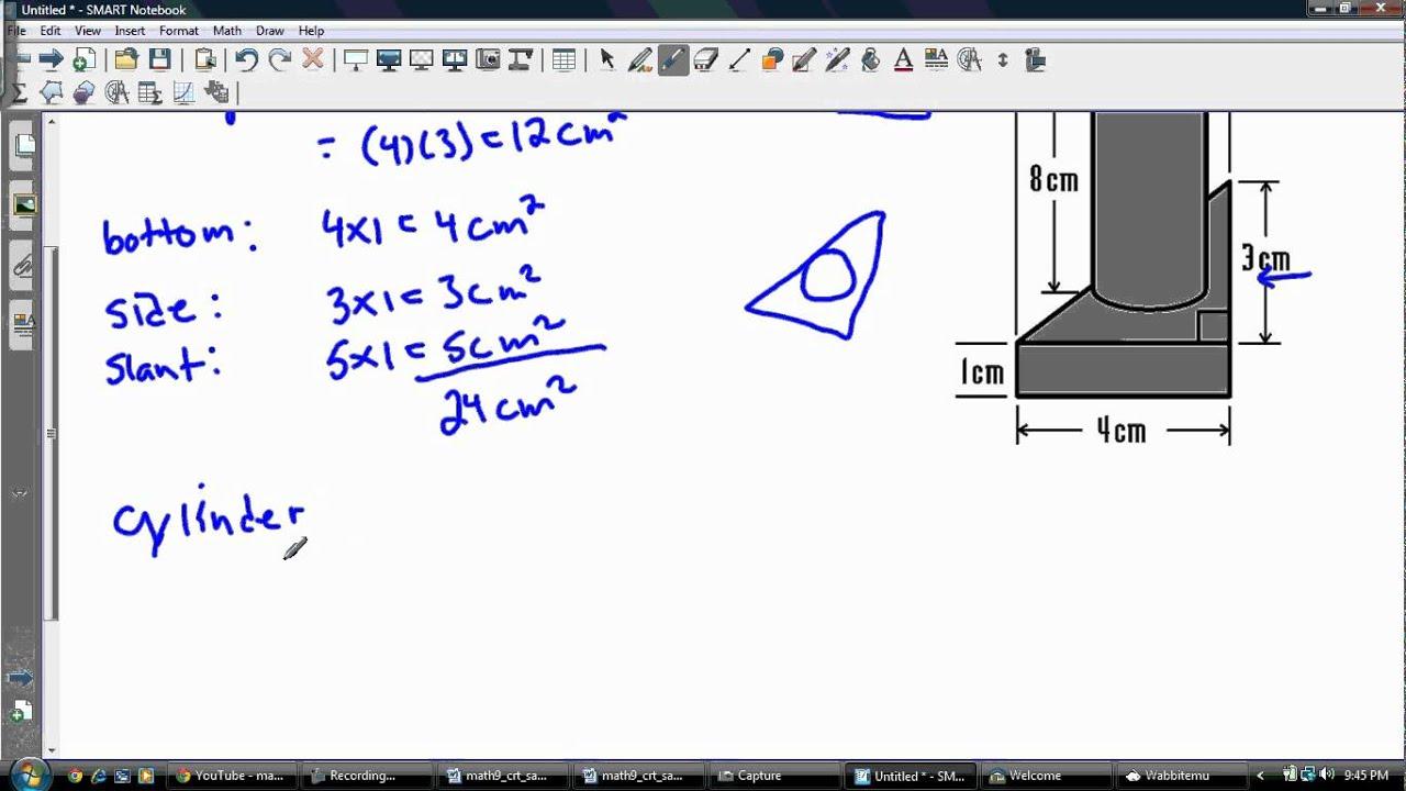 Surface Area Fo 3dposite Object Problem