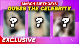 Guess the Celebrity | March Birthday Celebrants | Special Video