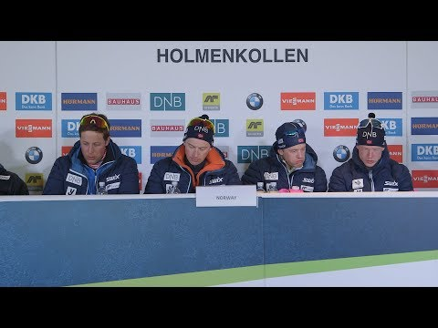 #HOL18 Men's Relay Press Conference