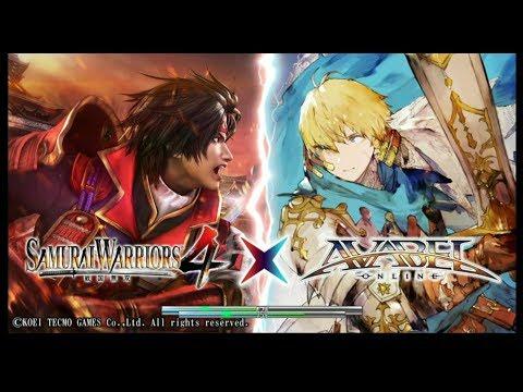 Avabel Online Updates/Samurai Warriors 4  Collab 1st Day Quick Look