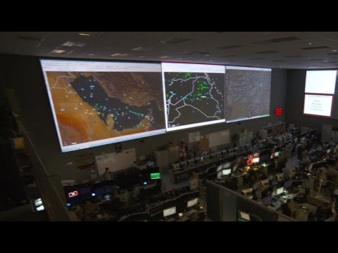 60 Minutes gets rare look at U.S. command center in war against ISIS