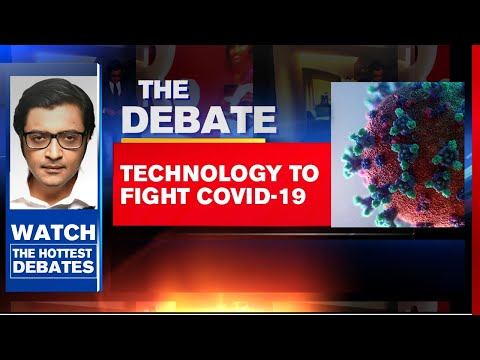 COVID Battle: Technology To Fight Coronavirus   The Debate With Arnab Goswami