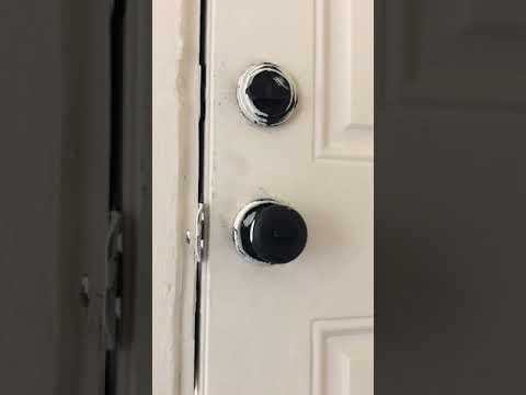 How To Remove Door Handle With No Screws - Kwikset Hidden Screw Door Handle Removal Hack