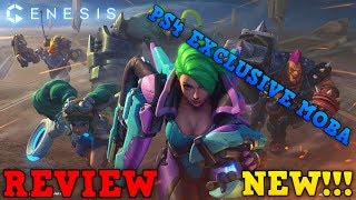 "Genesis Moba PS4 - Review - (PS4 EXCLUSIVE) - FREE!!! ""Rampage Games"""