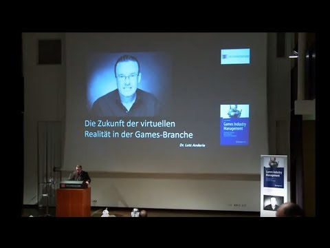 Anderie - Games Industry Management / Virtual Reality Zukunft