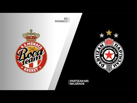 AS Monaco - Partizan NIS Belgrade Highlights | 7DAYS EuroCup, T16 Round 4