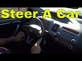 How To Steer A Car Properly-Driving Tutorial