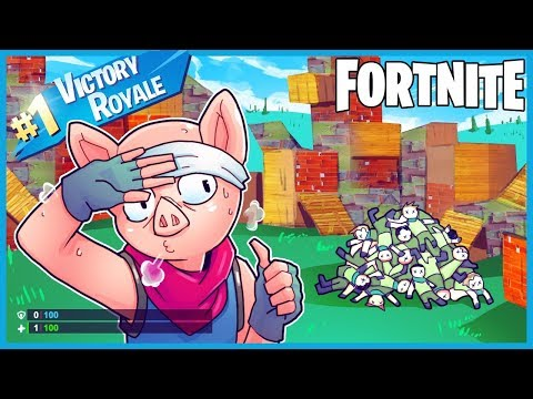 1HP CLUTCH In  *SWEATIEST* LOBBIES EVER In Fortnite: Battle Royale! (Fortnite Funny Moments & Fails)