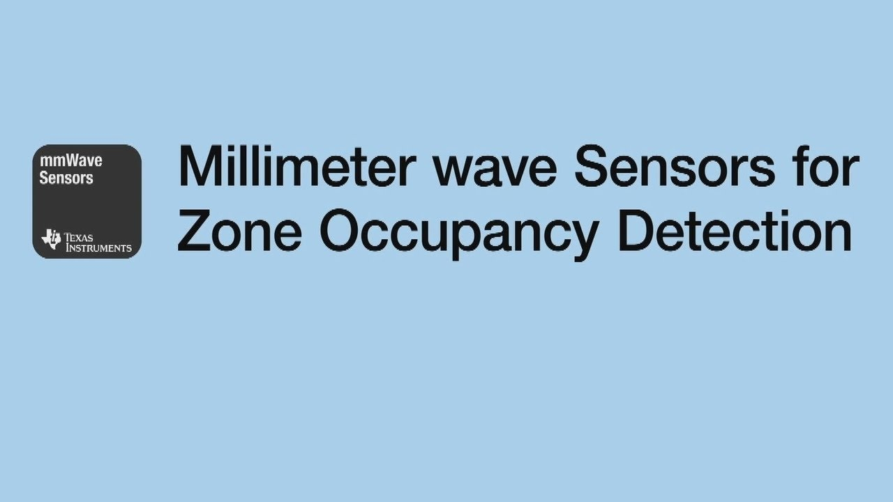mmWave Sensors for Zone Occupancy Detection