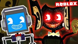Bendy et The Ink Machine Roleplay! (à Roblox) FACECAM FACECAM