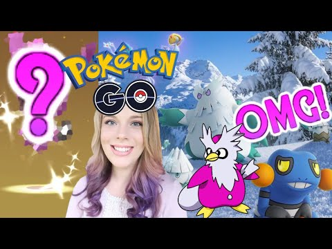 I CAN'T BELIEVE I HATCHED THIS SHINY POKEMON! + Gen 4 Pokemon Go Christmas Event News! (Disney Vlog)