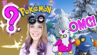 I ACTUALLY HATCHED THIS SHINY POKEMON! + *NEW*  Gen 4 Pokemon Go Christmas Event News! (Disney Vlog)