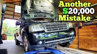 My CHEAP Auction Range Rover Looked Like an EASY FIX. I was Wrong and Miserably Failed