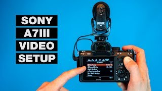 How to Setup Your Camera for Video — Sony A7III Tutorial