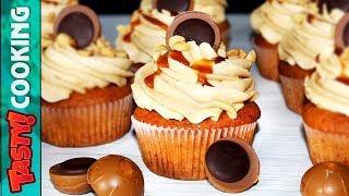 Caramel Cupcakes Recipe 🍰 Tasty Cooking