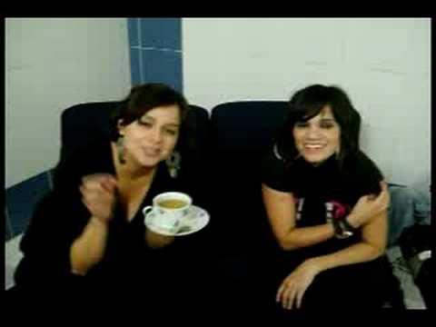 Linda Moreno y Edith Sanchez
