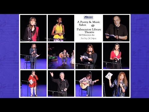 September 2016 Poetry & Music Salon @ Palmerston Library Theatre